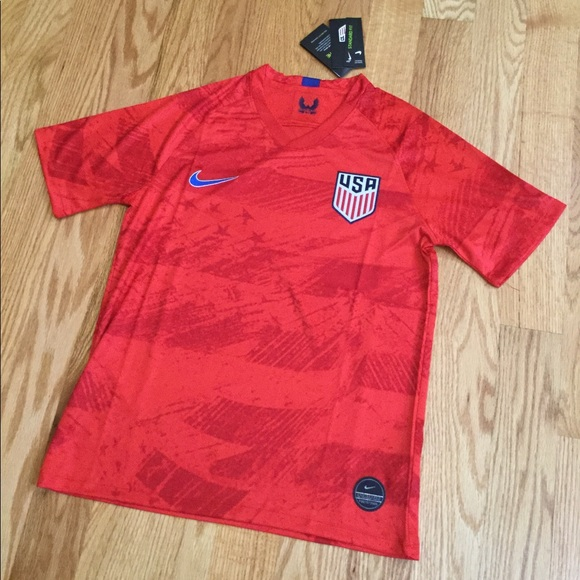 be24e6b11 Shirts | 2019 Usa Soccer Jersey Away Red Gold Cup | Poshmark